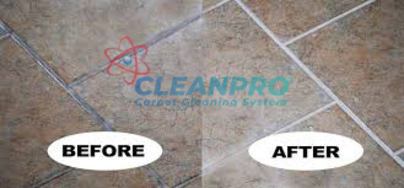 Second - TILE & GROUT CLEANING